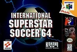 International Superstar Soccer 64 (USA) Box Scan